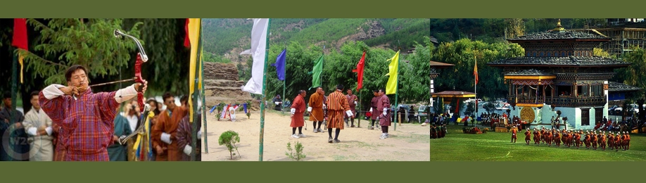 Image 1 for Bhutan - Archery : Bhutan Tourism & Travel Guide