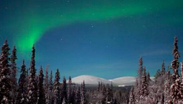 Trailing the Northern Lights in Lapland!